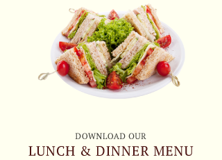 Download Our Lunch & Dinner Menu